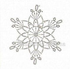 Best 12 What are the crochet snowflake pattern? crochet snowflake pattern schematic pattern to crochet a snowflake. Crochet Angels, Crochet Stars, Thread Crochet, Irish Crochet, Crochet Flowers, Crochet Stitches, Crochet Snowflake Pattern, Crochet Snowflakes, Doily Patterns