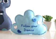 Blue gift for Christmas by Barbara on Etsy