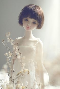 the amount of 'expression' these dolls {BJDs} have is just Amazing to me.. just beautiful.