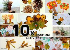 My Home Style: 10 tipů na podzimní tvoření pro nejmenší Fall Crafts For Kids, Kids Crafts, Diy Toys, Table Decorations, House Styles, Home, Art, Autumn, Nature