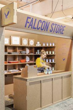Falcon enamel pop-up store: