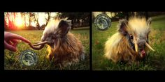 SOLD- HAND MADE! Poseable Baby Wooly Mammoth! by Wood-Splitter-Lee on DeviantArt