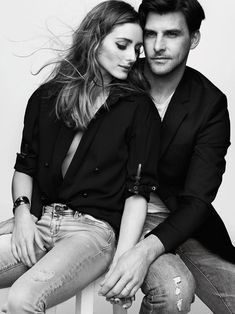 Olivia Palermo and Johannes Huebl for Madame Figaro