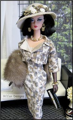 BCCan Designs For Barbie Silkstone 2010 157 tangrey
