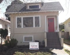 Exterior Painting Scheme Kelly Moore Malibu Beige And Swiss Coffee Exterior Painting Ideas