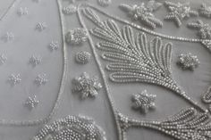 Hawthorne and Heaney: Tambour vs. Ari Beading, London Embroidery