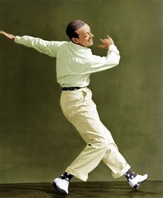 Fred Astaire. Dancer, actor, choreographer and the personification of elegance.