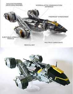 The USCSS Prometheus, via Flickr and The Brothers Brick