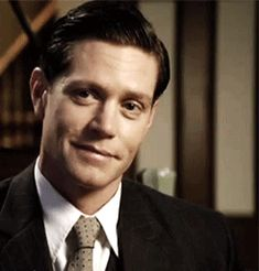 Inspector Jack Robinson ~ Miss Fisher's Murder Mysteries. Tall? Check. Skinny? Check. British? No, but he is Australian. Vaguely sociopathic? I sense the potential.