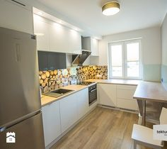 mieszkanie dla singla - Kuchnia, styl minimalistyczny - zdjęcie od Tektura Studio