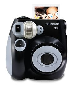 Black Analog Polaroid Camera & Film Set
