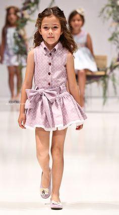 ALALOSHA: VOGUE ENFANTS: Laquinta SS2014 FIMI catwalk