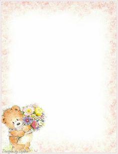 ♥ProfªAnanda♥: Bordas Lindas★ Friends Forever, Planners, Stationery, Teddy Bear, Printables, Navy, Fat Bride, Trading Cards, Finding Nemo
