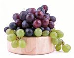 Researchers fed 2 groups of mice with Type 1 diabetes a similar diet, but added freeze-dried grape powder to the food of one group. The grape powder equaled about 1 percent of the mice's diet. The progression of T1D stopped in mice in the grape powder group and they lived longer than mice in the control group. Per researchers, 1 serving of freeze-dried grape powder given to the mice would need to be 6 servings for humans. Don't eat lots of grapes due to their high sugar content.