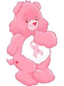 Cancer Awareness Bears - Pink Ribbon for Breast Cancer