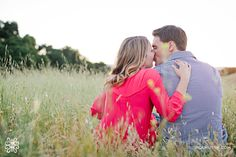 Engagement session Sunset Kiss engaged couple Photography by Indu Huynh Photography