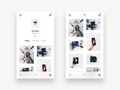 VSCO Profile by Ilja Miskov #Design Popular #Dribbble #shots