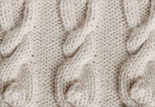 Bunny Cable Knit Stitch Pattern