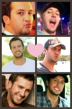 The many sexy faces of my Luke...ooh wee! ♡