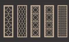 custom room & cabinet panels in MDF -- Fretworks Designs, LLC Cnc Plasma Cutter, Balcony Railing Design, Door Displays, Wall Molding, Moldings, Metal Screen, Got Wood, Heating And Air Conditioning, Decorative Panels