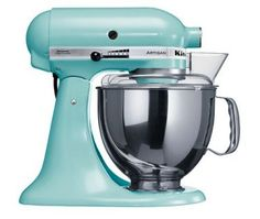 My very own KitchenAid Artisan stand mixer in Ice blue or Cranberry