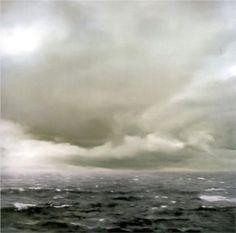 Seascape (Cloudy) - Gerhard Richter