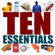 10 essential camping gear. Preparing for contingency can prevent emergency.