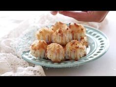 This Coconut Macaroon recipe without sweetened condensed milk has only 6 ingredients, making it such an easy gluten free dessert recipe. Cheesecake Cupcakes, Strawberry Cheesecake, Paleo Recipes, Cookie Recipes, Dessert Recipes, Easy Gluten Free Desserts, Delicious Desserts, Gluten Free Coconut Macaroons, Macaroon Recipes