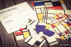 """Te invito a que lo conozcas más, lo disfrutes y lo compartas con tus hijos… """"Mondrian para niños y niñas. Mondrian for children""""Un libro para jugar y aprender con Piet Mondrian, …"""