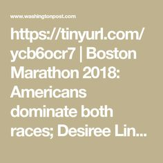 Linden is the first American woman to win in Boston since 1985 and American women nabbed five of the top six spots. American men finished third and fourth behind Japan's Yuki Kawauchi. Boston Marathon, In Boston, Racing, American, Running, Auto Racing