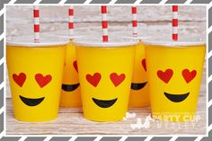 Emotions Birthday Party Supplies – Party Cup Medley