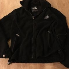 Flash sale The Northface Fleece The North Face fleece zip up think this is ladies. Have had for along time might be vintage or close to it. Summit Series water proof breathable according to tag small no hood full zip sold as is some piling, hairs, and fuzz. The inside drawstring on 1 side is pulled out of the hole and stretched out. May not be fixable not sure. Has pockets that zip closed. Again sold as is May need deep cleaning No returns final sale Trades yes  The North Face Jackets…