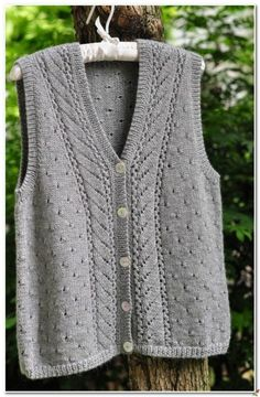 Click to view pattern for - Classic vest