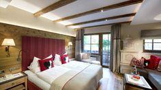 Four star superior Alpine Spa Hotel Tuxerhof. Alpine Spas, Ski Holidays, Best Hotels, Curtains, Bed, Room, Wellness, Furniture, Home Decor
