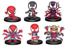 Disney Anime Toys - DAT: Imported Time Capsule Marvel Figure Collection - Spiderman & Venom