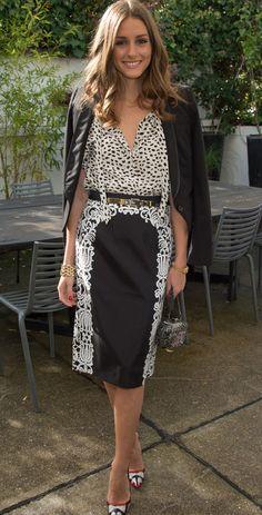 2669edcbb8 Olivia Palermo in the Violette Pencil Skirt. Tibi s 25 Best Dressed of  2012  Re