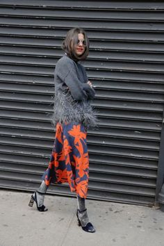 midi skirt print feathers fringe outfit shoes socks in shoes sunnies street style outfit stylish