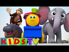 Five Little Speckled Frogs | 5 Little Speckled Frogs | 3D Rhymes For Children - YouTube