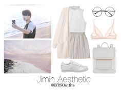 """""""Aesthetic: Jimin"""" by btsoutfits ❤ liked on Polyvore featuring Retrò, adidas, Calvin Klein Underwear and ALDO"""