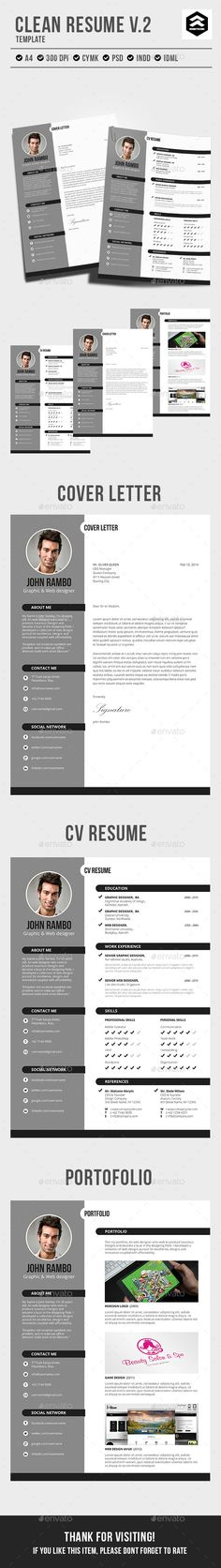 Resume Cover letter template, Letter templates and Template