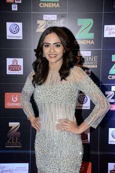Amruta Khanvilkar @ Zee Cine Awards 2017 Red Carpet Photos
