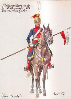 2e Chevaulégers de la Garde Impériale, Esc. de la Jeune Garde - 1813