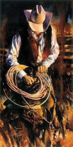 Chris Owen Artist Cowboy and Western Art Prints capture the ranch style life in all it detail. Cattle drives, Horses and more. Chris Owen, Westerns, Arte Equina, Western Photo, Cowboy Horse, Cowboy Western, Cow Girl, Cow Boys, West Art