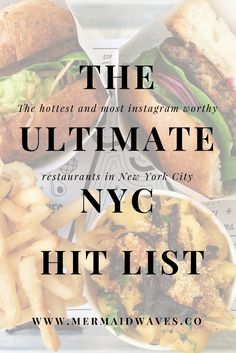 New York City Travel | Instagram Worthy Spots | Best Instagram Photos | New York City Food and Travel | NYC Travel Guide | New York City Dining Guide | Cool Spots | Cool Young Restaurants | Travel Guide for Young Women | Food Pictures | New York City Hit List