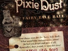 Fairy Tale Ball: Save the Date by Sean Ashby
