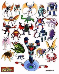 Vega Monsters from episodes 54 - 74 #anime#animation#manga#グレンダイザー#grendizer#goldrake#goldorake#actarus#daisuke#dukefleed#alcor#kojikabuto#art#artwork#love#instagood#hikaru#gonagai#zuril#blaki#vega#mazingerz#mazinger#greatmazinger#fanart#instalike