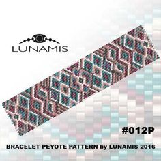 Bracelet peyote patterns made with size Toho Treasures seed beads Width: columns) Length: Colors: 5 Patterns include: - Loom Bracelet Patterns, Peyote Stitch Patterns, Seed Bead Patterns, Weaving Patterns, Jewelry Patterns, Bracelets Design, Bead Crochet Rope, Painting Leather, Bracelets