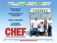 CHEF |  ★ ★ ★  | Release: 7 March 2014 (SXSW), 9 May 2014 (US) | Country: USA | Cast: Jon Favreau, Sofía Vergara, John Leguizamo, Scarlett Johansson, Oliver Platt, Bobby Cannavale | Watched on: Cinema, 5 July 2014 | Note: A week before I accidentally walk in a screening of Chef thinking it's the auditorium for Transformers: AoE, I wish I could have just stayed instead. | #Chef #JonFavreau #SofíaVergara #JohnLeguizamo #ScarlettJohansson #film