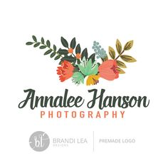 Really neat Premade Business Logo Design - Professional Logo Design - Pre-made Logo - Vector/EPS - CMYK 35.00 USD from BrandiLeaDesigns logo design premade logo pre-made business logo design vector eps graphic design photography logo professional logo custom logo design watermark simple watercolor logo http://ift.tt/1jg4CQM