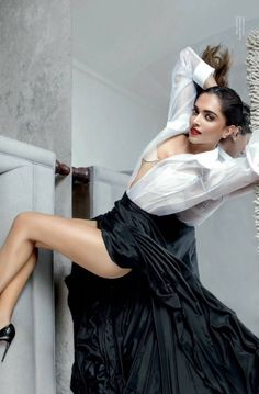Deepika Padukone on the cover of Maxim India 2017 photoshoot